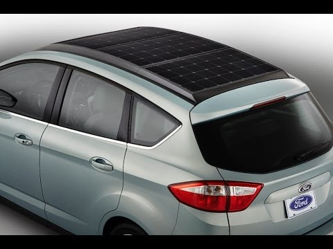 Ford C-Max Hybrid 2014 Solar Cell Energi Commercial CES 2014 Carjam TV HD Best Car Shows