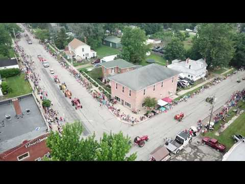 Ostrander Ohio Independence Day 2019 4k video