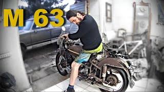 Урал М63 1969 года. Запуск двигателя после 38 лет простоя. Реакция жены на покупку мотоцикла...
