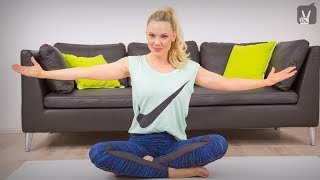 Gerade Haltung trainieren – Pilates Oberkörper Workout