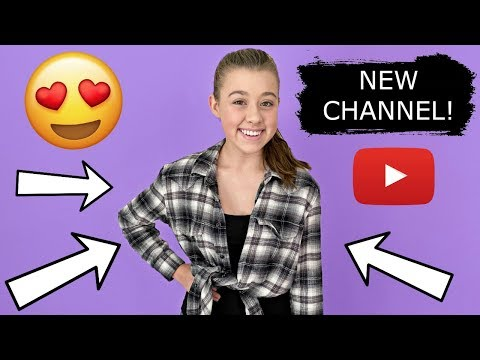Gabrielle's NEW Teen YouTube Channel!