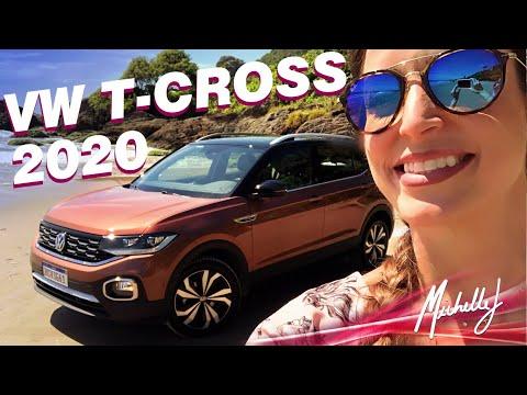 Dirigindo o Novo T-Cross Highline 2020 de Curitiba a Camboriú | Avaliação Michelle J