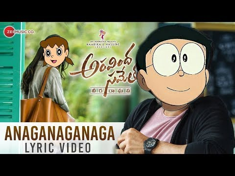 Anaganaganaga song nobita version || Aravinda sametha songs