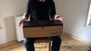 My new instrument a Logdrum from Schlagwerk Recorded with my Iphone