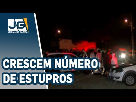 Crescem números de estupros no Estado de SP e na Capital