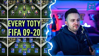GamerBrother REAGIERT auf JEDES TOTY FIFA 09 - FIFA 20 😱🔥 | GamerBrother Stream Highlights