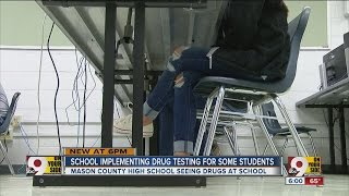 Will Mason Co. High School drug test students?