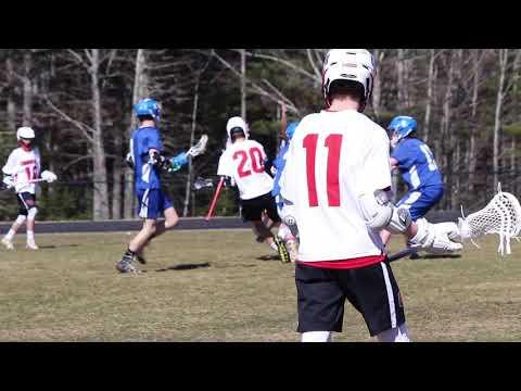Erskine Academy vs Camden Hills boys lacrosse