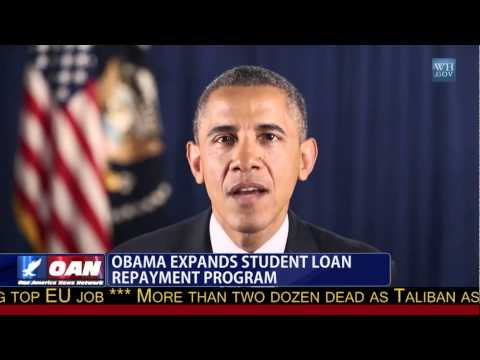 President Obama Expands Student Loan Repayment Program