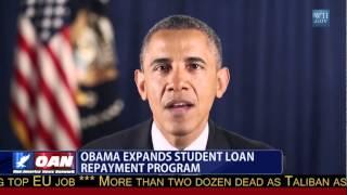 President Obama Expands Student Loan Repayment Program