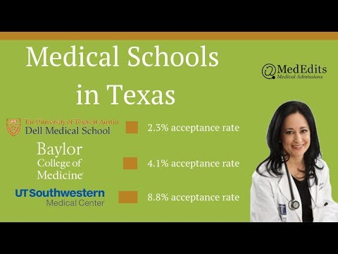 Medical Schools In Texas