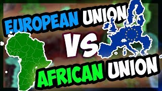 HOI4 What If The EU Went To War With The AU Millennium Dawn Hearts of Iron 4