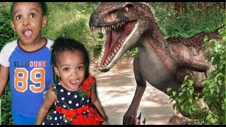 Learn Dinosaurs for Kids (T-Rex)|The Different types of Dinosaurs Names and their sounds For Childen