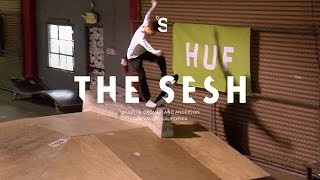 The Sesh: HUF at Skatelab