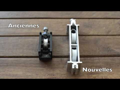 Changement Roulettes Baies Coulissantes Ste Prevost 2016 Youtube