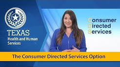 HHS: The Consumer Directed Services Option
