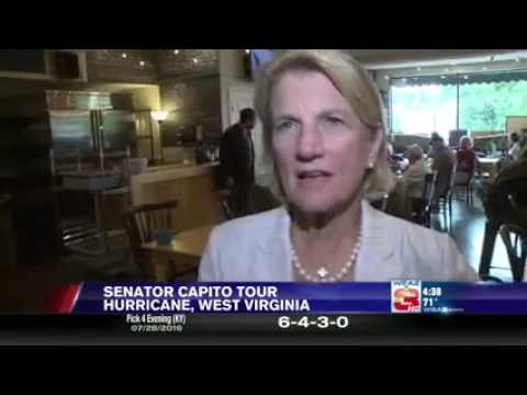 Capito Visits Books and Brews in Hurricane