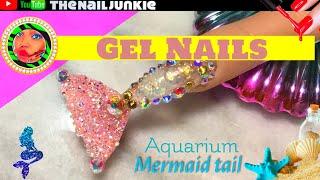 Mermaid Aquarium Tail |tutorial | Yoyage Builder Gel
