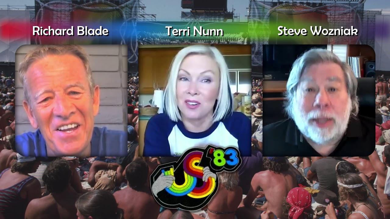 US Festival '83: 37th Anniversary Zoom Q&A w/ Steve Wozniak, Terri Nunn & Richard Blade - Teaser