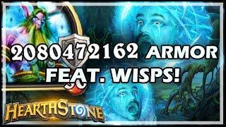 2,080,472,162 ARMOR FEAT. WISPS! - Rastakhan's Rumble Hearthstone
