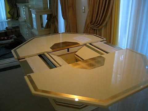 Piano Table    Eichenholz Tisch Mit Verstecktem Klavier Von Georg ...
