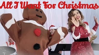 all i want for christmas is you mariah carey vintage jazz cover