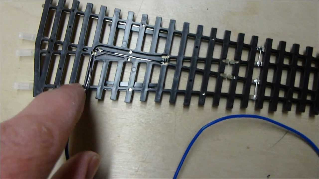 dean park station video 9 how to wiring up peco turnouts for dccdean park station video 9 how to wiring up peco turnouts for dcc with peco point motors youtube