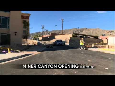 UTEP's Miner Canyon To Open