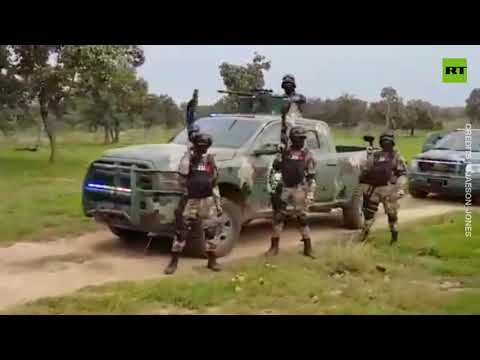 Shocking footage | Mexico's 'cartel army' prompts government inquiry