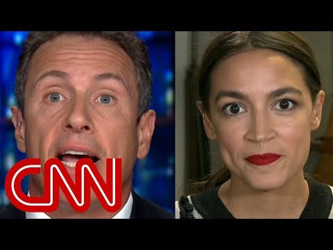 "Democratic congressional candidate Alexandria Ocasio-Cortez appearing on CNN's ""Cuomo Prime Time"" on Wednesday, Aug. 8."
