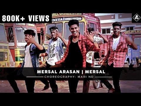 Mersal - Mersal Arasan | Vijay | AR Rahman | Dance Cover | Mari ND Choreography | MND Crew |
