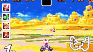 Mario Kart - Super Circuit - Vizzed.com Play -  Flower Cup 50cc - User video