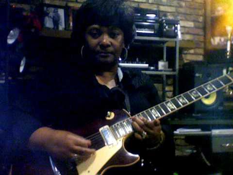 Gospel African American Female Lead Guitarist J Marshall Coates