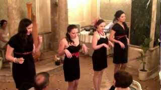 Свадьба Маши Грошевой: танец невесты и подружек