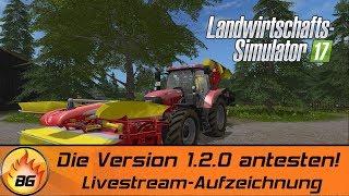 LS17 - Klingenbach | Die Version 1.2.0 antesten! | Livestream-Aufzeichnung [HD] 2017 Video
