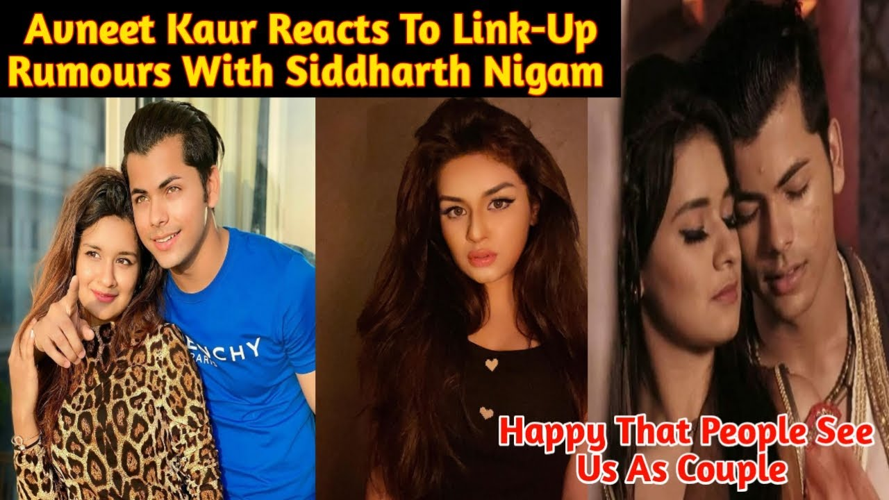 Download Avneet Reacts To Link-Up Rumours With Siddharth Nigam| Avneet On Dating Siddharth In Real| Sidneet|
