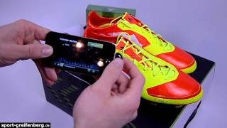 Adidas F50 adizero miCoch App die Fußballschuhe im Test
