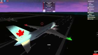 a place with airliners roblox 787 takeoff and landing