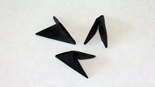 Черная бумага для модулей оригами для начинающих как сделать самой (самому)?
