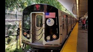 On Board R160 (M) EXP Train From Essex Street to Metropolitan Avenue via Williamsburg Bridge