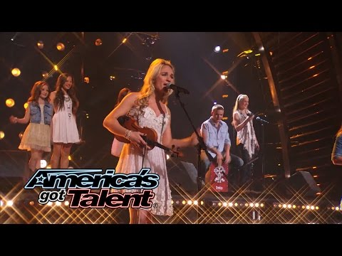 The Willis Clan: Family Band Puts a Twist on 'The Power of Love' Cover - America's Got Talent 2014