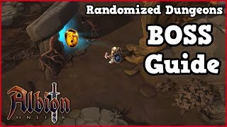 Albion Online l NEW Randomized Dungeons BOSS GUIDE