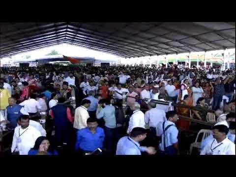 PM Shri Narendra Modi addresses a public meeting in Nashik, Maharashtra  #MahaJanadeshWithModi