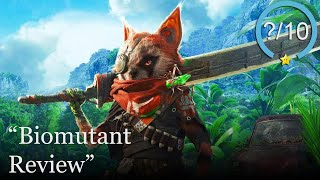 Biomutant Review [PS4, Xbox One, & PC] (Video Game Video Review)