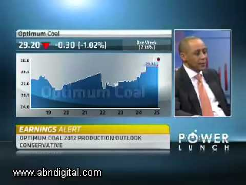 Optimum Coal Annual Results With CEO Mike Teke