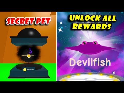 *New* SECRET Petball & Evolve Rarest Legendary Pet In Reward   Pet Trainer Simulator! [Roblox]