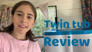 Leisurewize Portawash portable twin tub washing machine, review