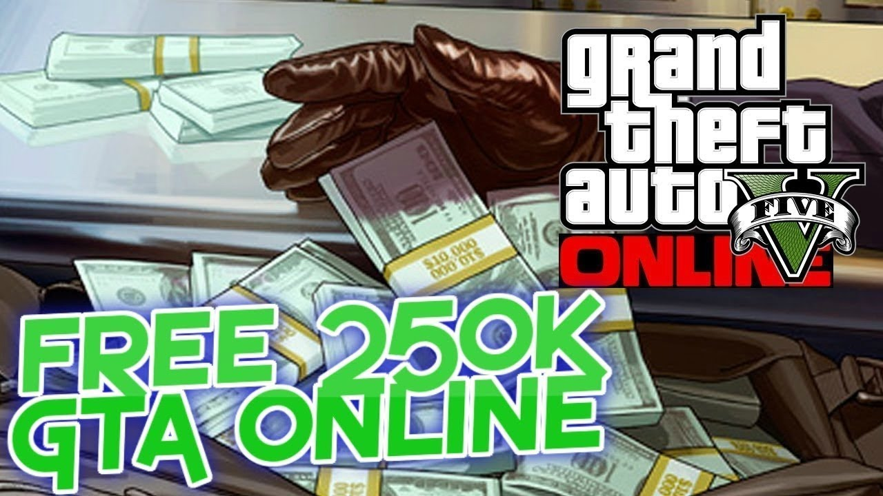 How To Get Your FREE! 250k - 1 Million Dollars In Gta Online!