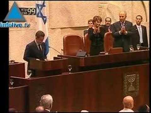 Sarkozy Rend Hommage à Israël Et Pose Les Conditions De La P
