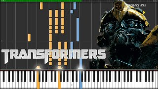 Steve Jablonsky — Arrival to Earth (Transformers) Piano Tutorial (Synthesia + Sheets + MIDI)